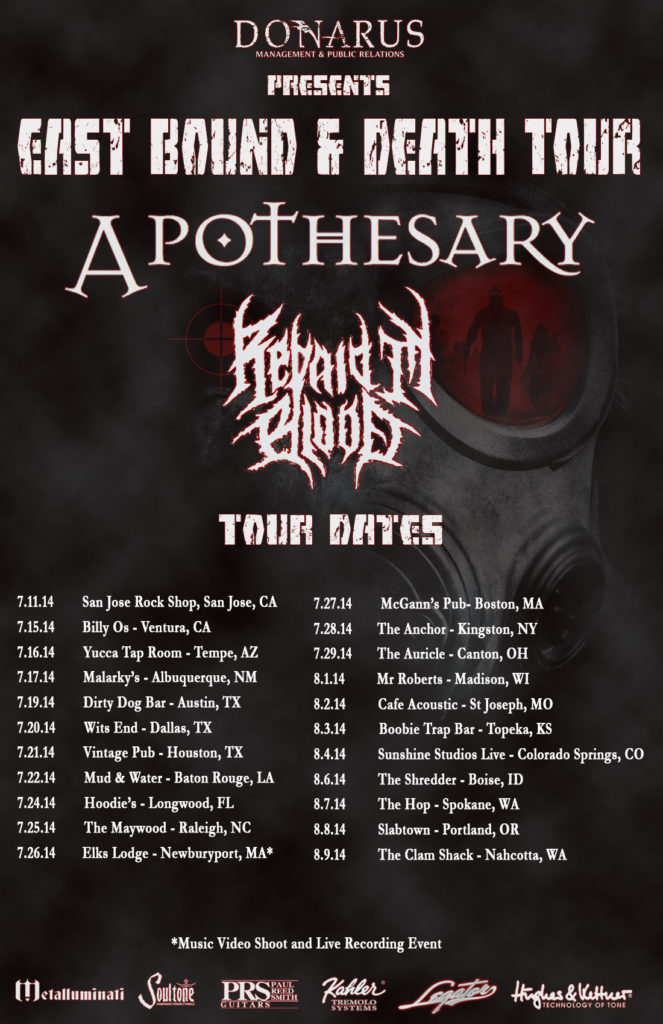 East bound and death tour