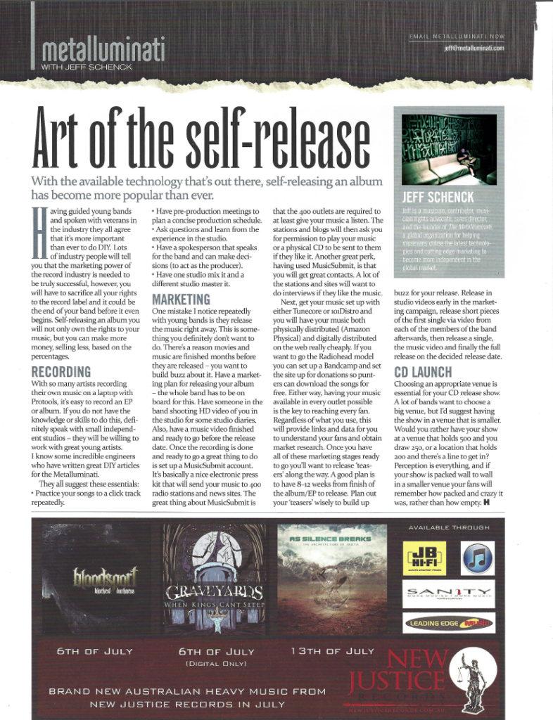 Art of Self-Release