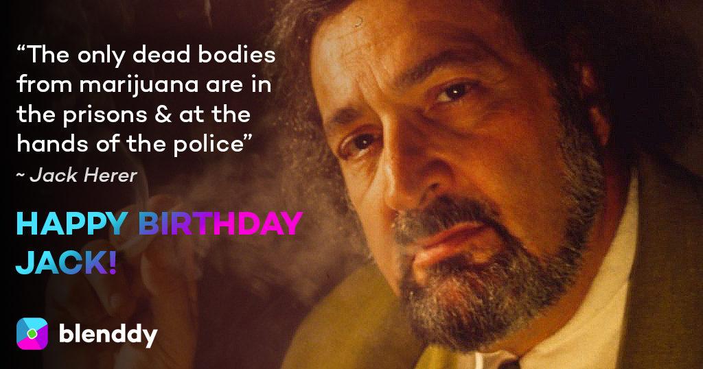 Jack Herer Birthday