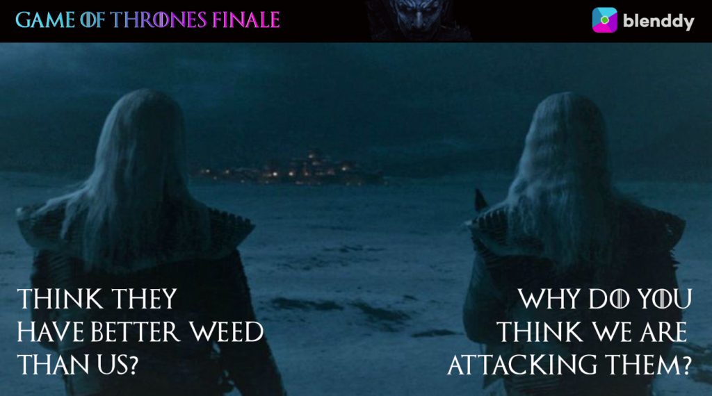 Game of Thrones Whitewaliker Meme