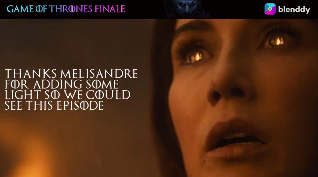 Game of Thrones Melisandre Meme