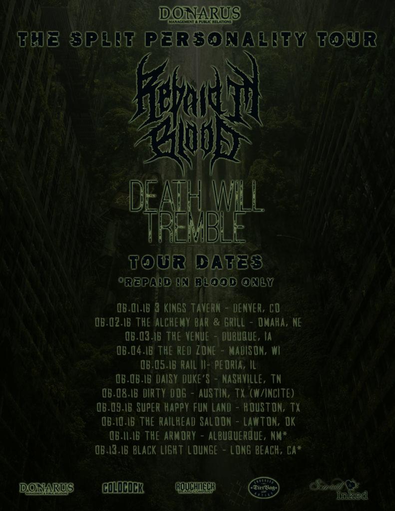 Split Personality Tour