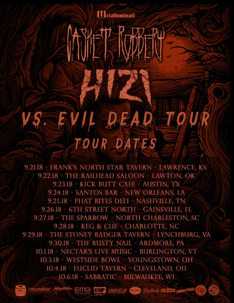 Vs Evil Dead Tour